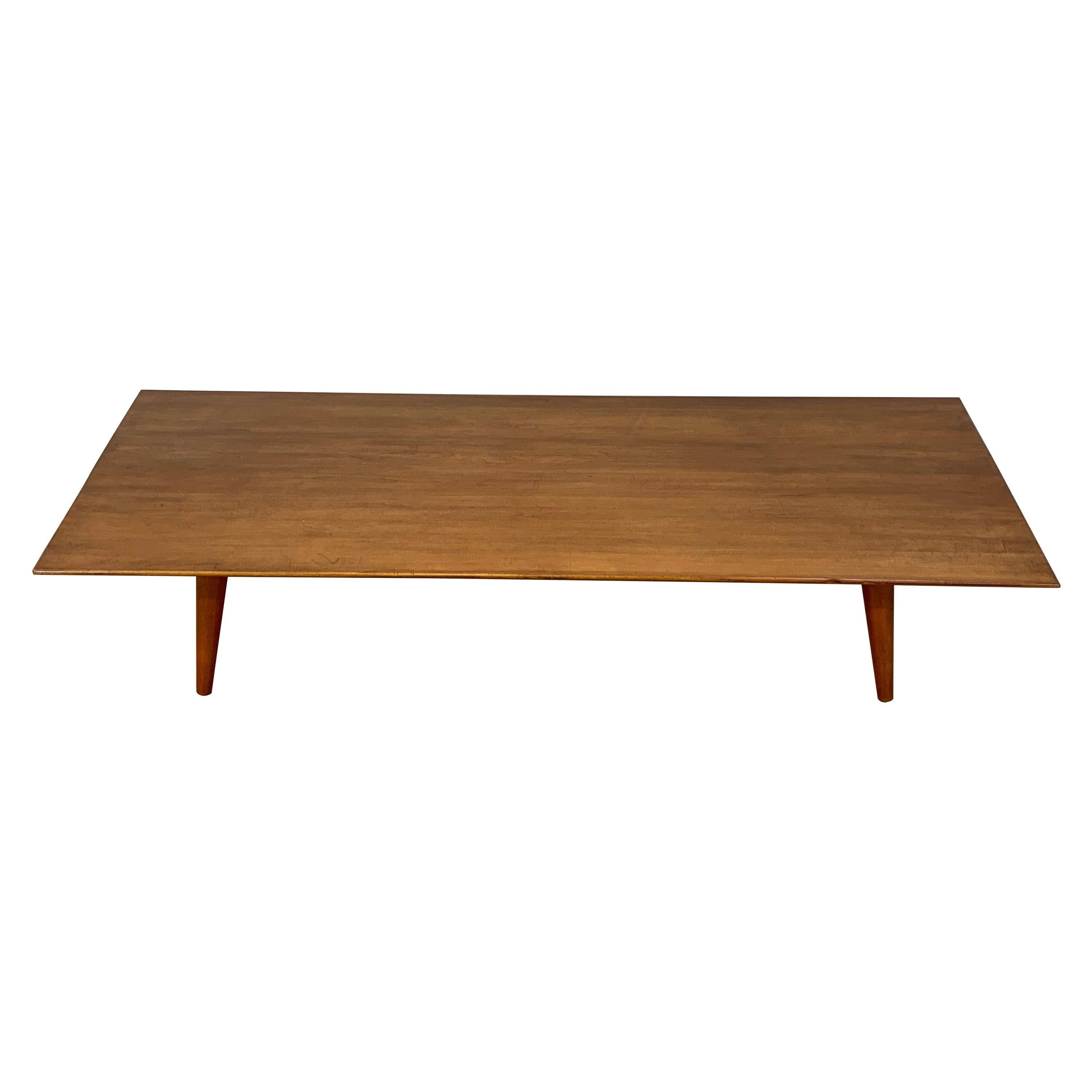 - Paul McCobb For Planner Group Low Profile Maple Coffee Table For