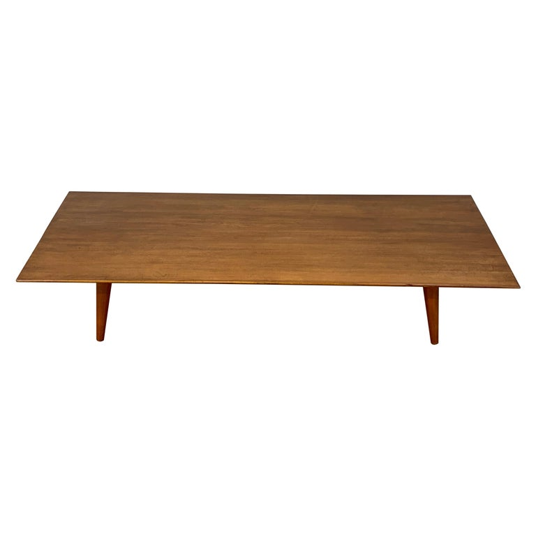 Paul Mccobb For Planner Group Low Profile Maple Coffee Table For Sale At 1stdibs