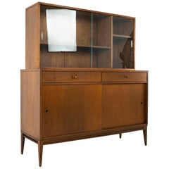 Paul McCobb for Planner Group MCM Solid Wood Sideboard Credenza Buffet and Hutch