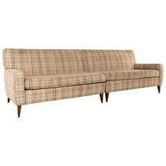 Paul McCobb for Planner Group Mid Century 2 Piece 4-Seat Sectional Sofa