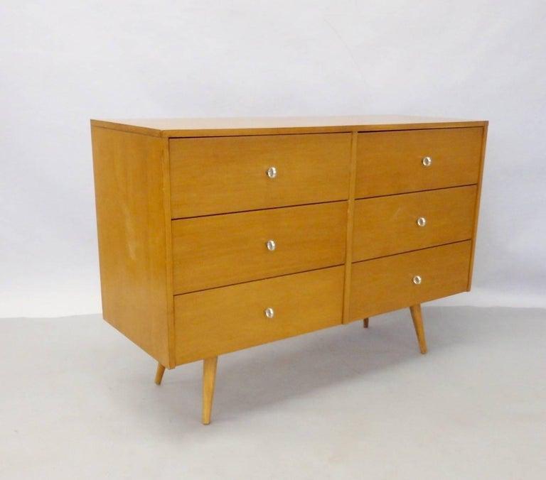 American Paul McCobb for Winchendon Original Finish Planner Group Double Dresser For Sale