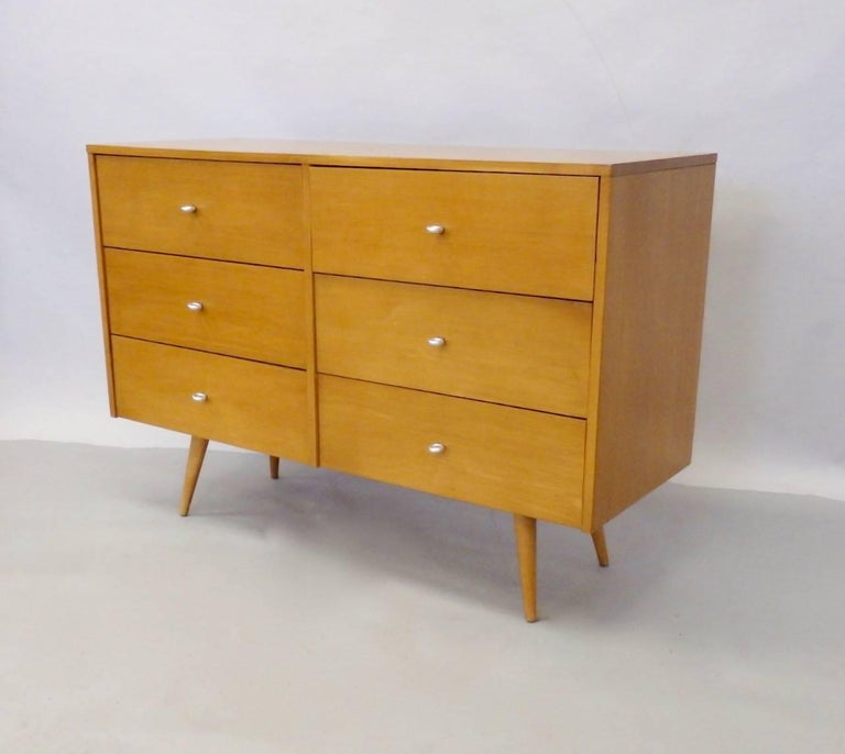 20th Century Paul McCobb for Winchendon Original Finish Planner Group Double Dresser For Sale