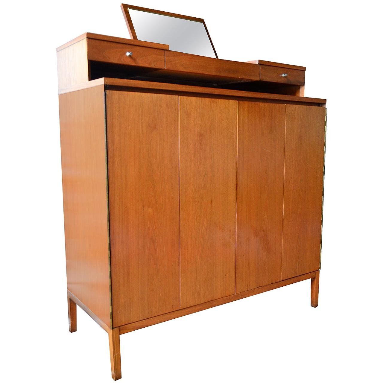 Paul McCobb Gentleman's Tall Chest Irwin Collection for Calvin Furniture, 1956