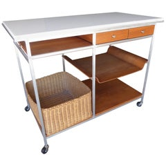 Paul McCobb Irwin Collection Serving Cart, circa 1950s