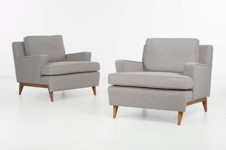Paul McCobb Lounge Chairs In Good Condition For Sale In Chicago, IL