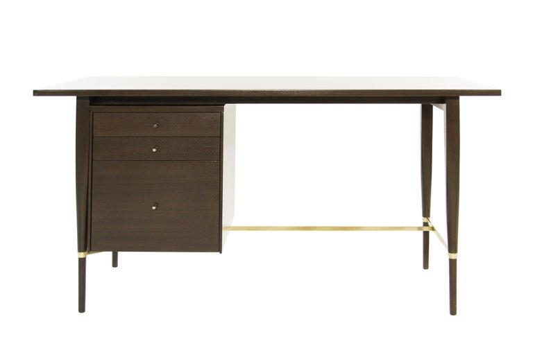 Paul McCobb Mahogany Desk, Calvin Collection, circa 1950s For Sale 7