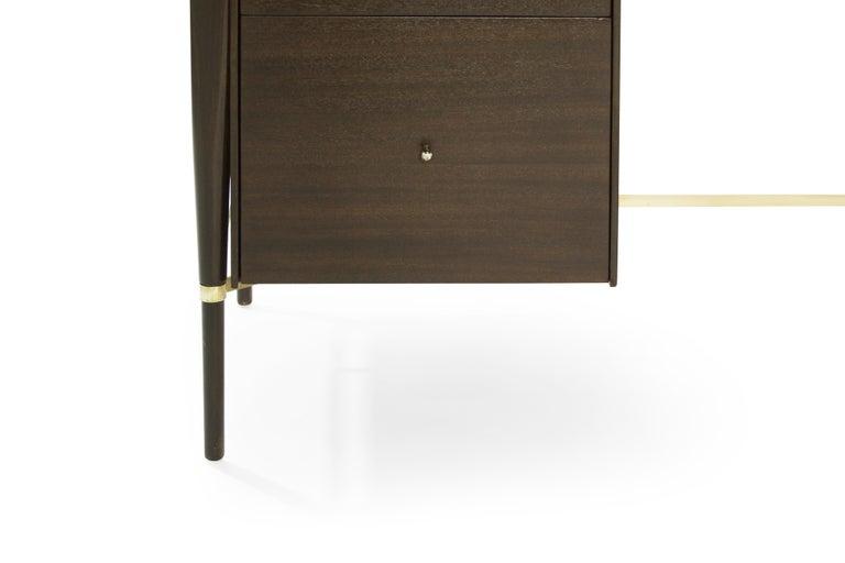 Paul McCobb Mahogany Desk, Calvin Collection, circa 1950s For Sale 1