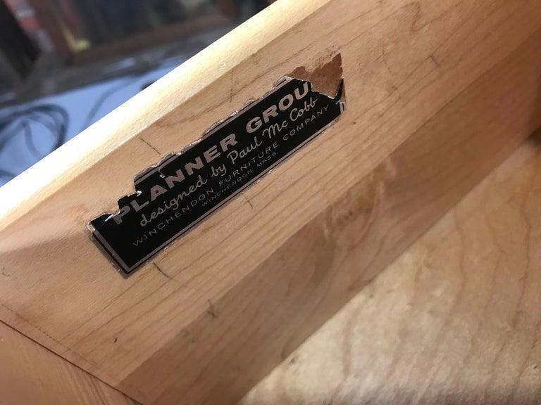 Paul McCobb Maple Planner Group Desk For Sale 4