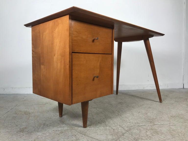 Paul McCobb Maple Planner Group Desk For Sale 2