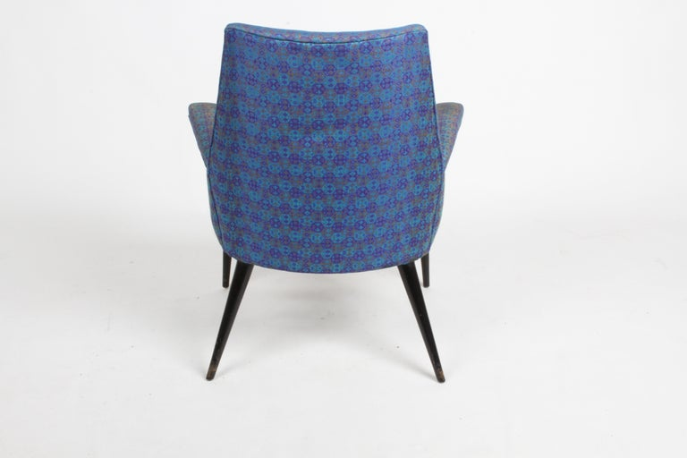 Paul McCobb Mid-Century Modern Armchair Model 3049 with Tapered Splayed Legs For Sale 3