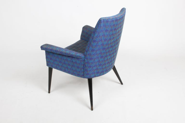 Paul McCobb Mid-Century Modern Armchair Model 3049 with Tapered Splayed Legs For Sale 4