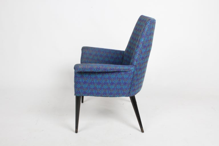 Paul McCobb Mid-Century Modern Armchair Model 3049 with Tapered Splayed Legs For Sale 5