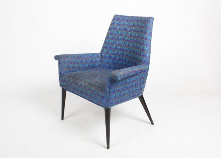 Paul McCobb Mid-Century Modern Armchair Model 3049 with Tapered Splayed Legs For Sale 6