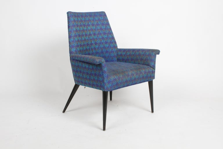 American Paul McCobb Mid-Century Modern Armchair Model 3049 with Tapered Splayed Legs For Sale