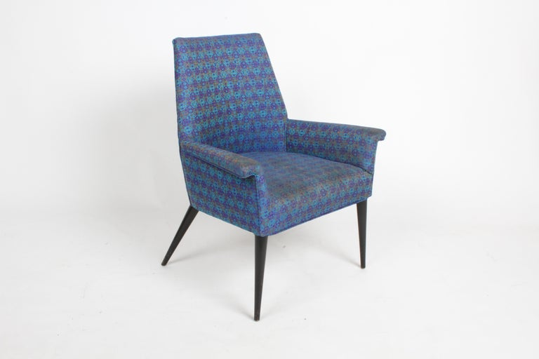 Stained Paul McCobb Mid-Century Modern Armchair Model 3049 with Tapered Splayed Legs For Sale
