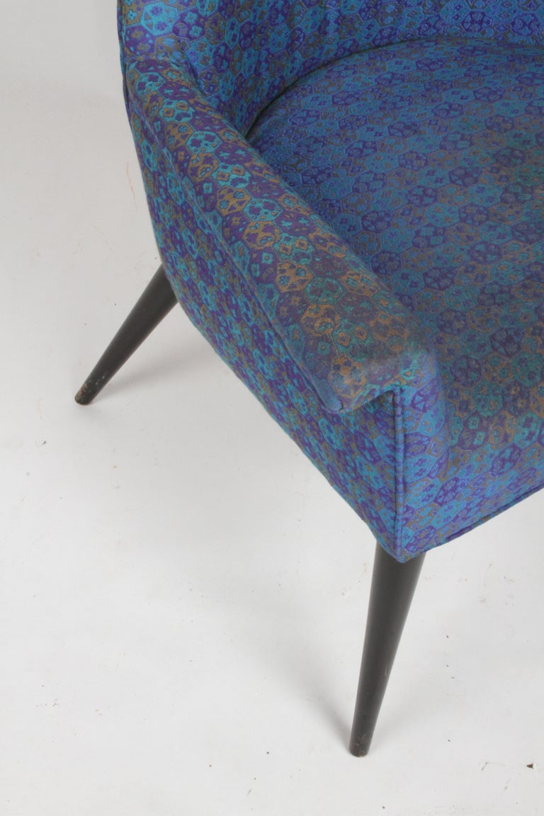 Mid-20th Century Paul McCobb Mid-Century Modern Armchair Model 3049 with Tapered Splayed Legs For Sale