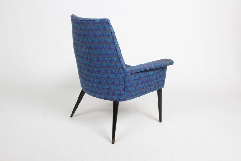 Paul McCobb Mid-Century Modern Armchair Model 3049 with Tapered Splayed Legs For Sale 1