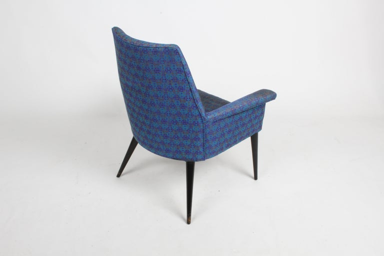 Paul McCobb Mid-Century Modern Armchair Model 3049 with Tapered Splayed Legs For Sale 2