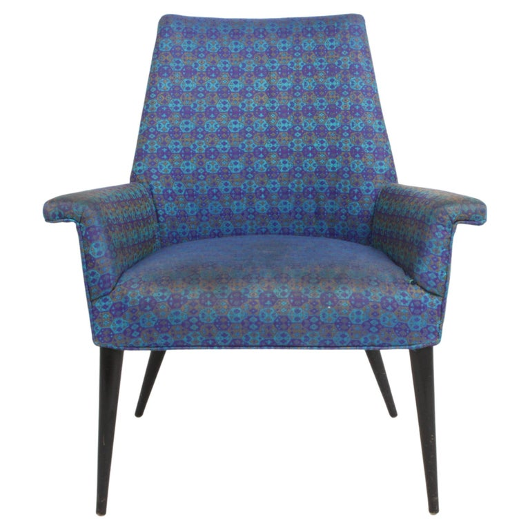 Paul McCobb Mid-Century Modern Armchair Model 3049 with Tapered Splayed Legs For Sale
