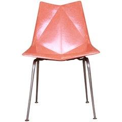 Paul McCobb Mid-Century Modern Fiberglass Origami Chair, 1950s