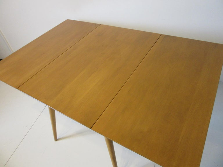 20th Century Paul McCobb Midcentury Planner Group Dining Set For Sale