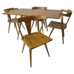 Paul McCobb Midcentury Planner Group Dining Set