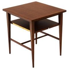 Paul McCobb Model 1047 Side / End Table / Nightstand for Calvin, Slide Out Shelf