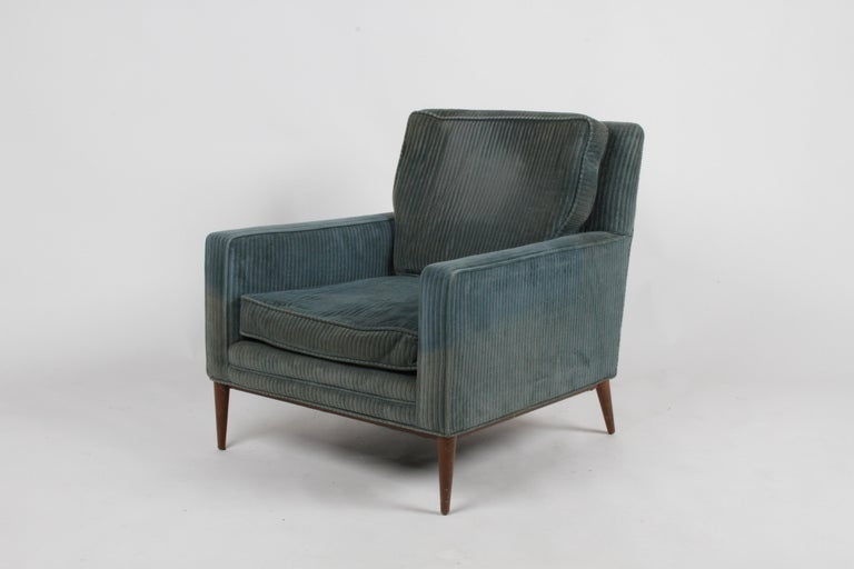 Paul McCobb Model 302 Mid-Century Modern Lounge or Club Chair for Directional For Sale 4