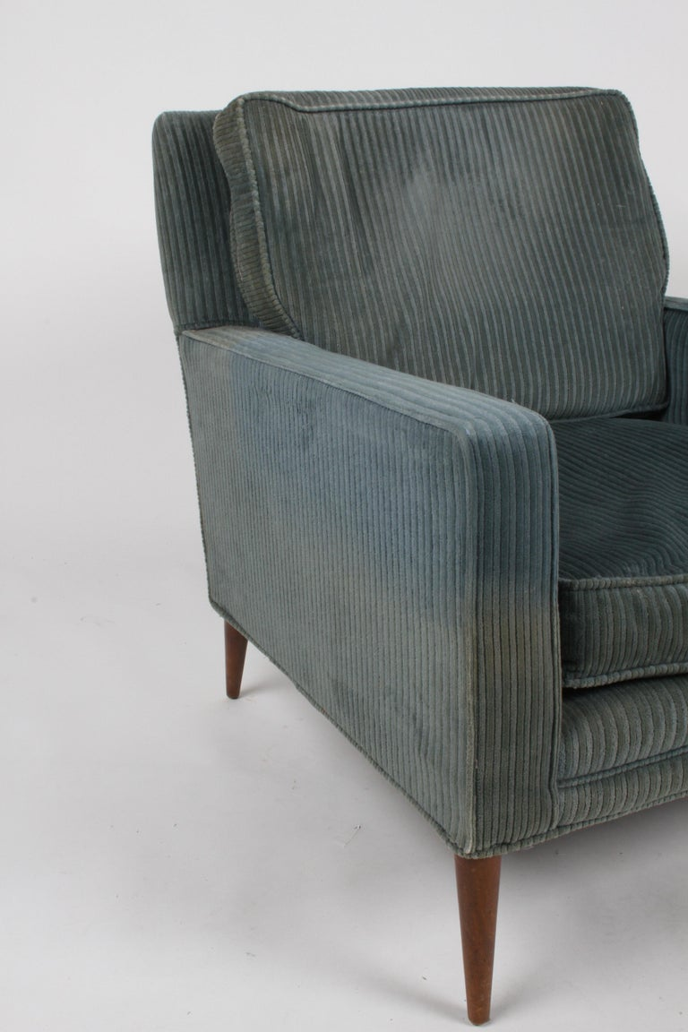 Paul McCobb Model 302 Mid-Century Modern Lounge or Club Chair for Directional For Sale 6