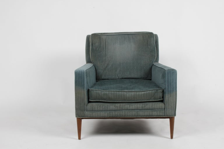 Mid-20th Century Paul McCobb Model 302 Mid-Century Modern Lounge or Club Chair for Directional For Sale