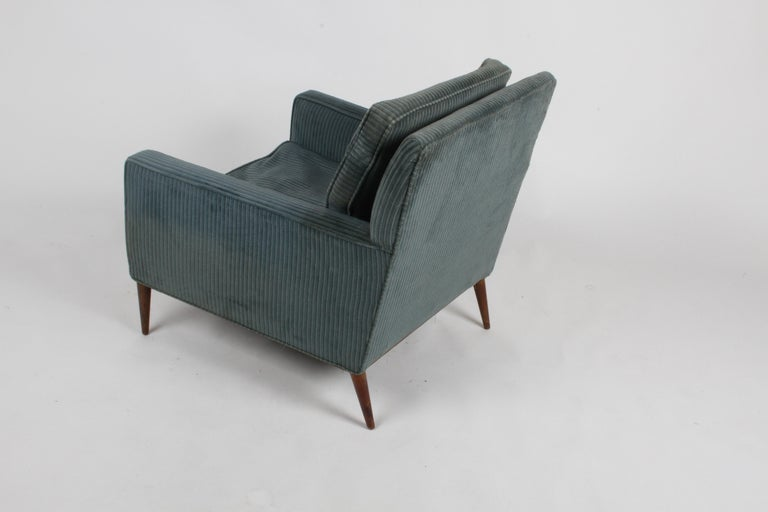 Upholstery Paul McCobb Model 302 Mid-Century Modern Lounge or Club Chair for Directional For Sale