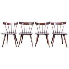 Paul McCobb Newly Refinished Planner Group Dining Chairs, Set of Four
