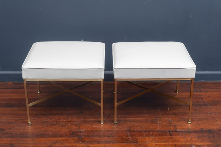 Mid-Century Modern Paul McCobb Ottomans For Sale