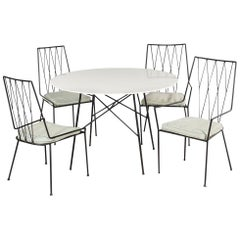 Paul McCobb Pavilion Collection Set of Four Chairs with Table