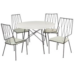Paul McCobb Pavilion Collection Table and 4 Chairs