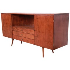 Paul McCobb Planner Group Credenza or Media Cabinet, Newly Refinished