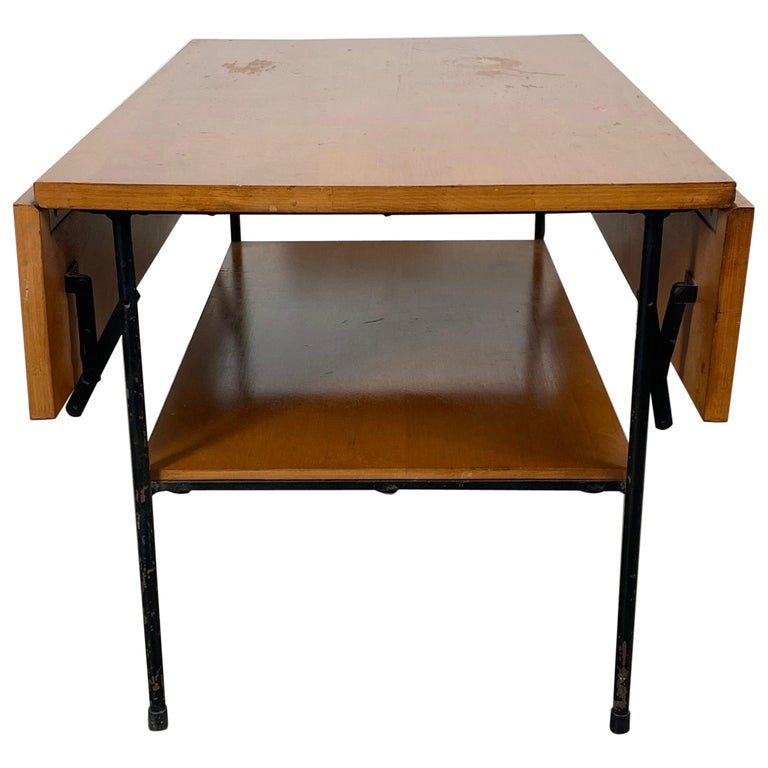 """Paul McCobb """"Planner Group"""" Drop Leaf Table for Winchendon Furniture Co. For Sale"""