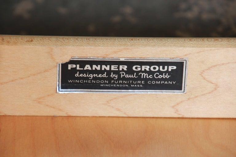 Paul McCobb Planner Group Ebonized Eight-Drawer Dresser or Credenza For Sale 4