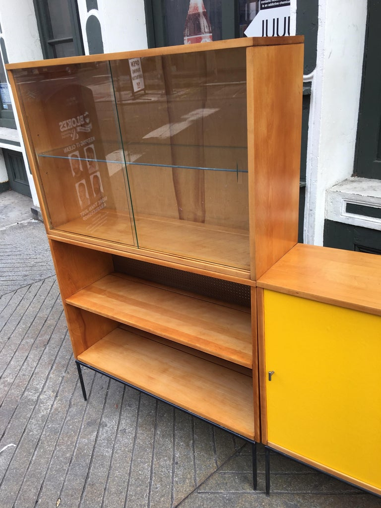 Mid-20th Century Paul McCobb Planner Group for Winchendon 3 Piece Bookcase For Sale