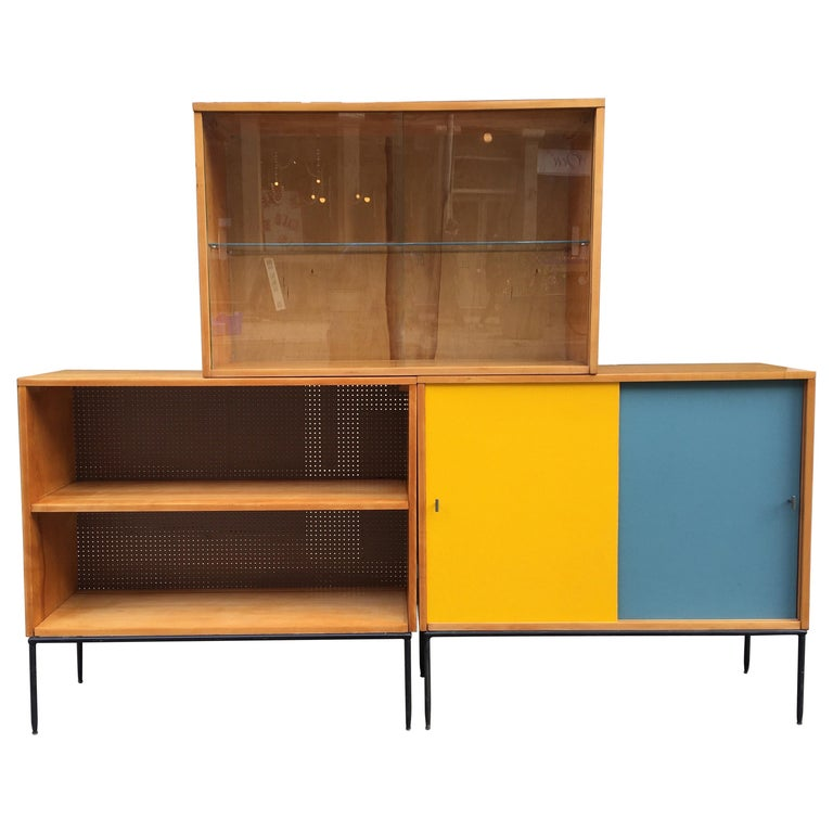 Paul McCobb Planner Group for Winchendon 3 Piece Bookcase For Sale