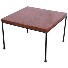 Paul McCobb Planner Group Iron Base Stool or Side Table