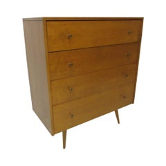 Paul McCobb Planner Group Maple Tall Dresser / Chest for Winchendon