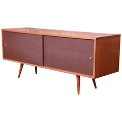 Paul McCobb Planner Group Mid-Century Modern Credenza or Record Cabinet, 1950s