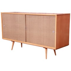 Paul McCobb Planner Group Mid-Century Modern Maple Credenza, Newly Refinished