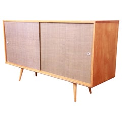 Paul McCobb Planner Group Mid-Century Modern Maple Sideboard Credenza, 1950s