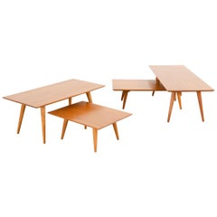 Paul McCobb Planner Group Mid-Century Modern Table Grouping