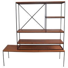 Paul McCobb Planner Group Modular Room Divider Shelving Unit