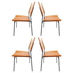 Paul McCobb Planner Group Shovel Chairs #1533 Maple Iron