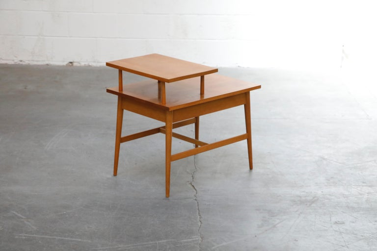 Paul McCobb Planner Group Side Table or Nightstand for Winchedon, circa 1950 For Sale 4