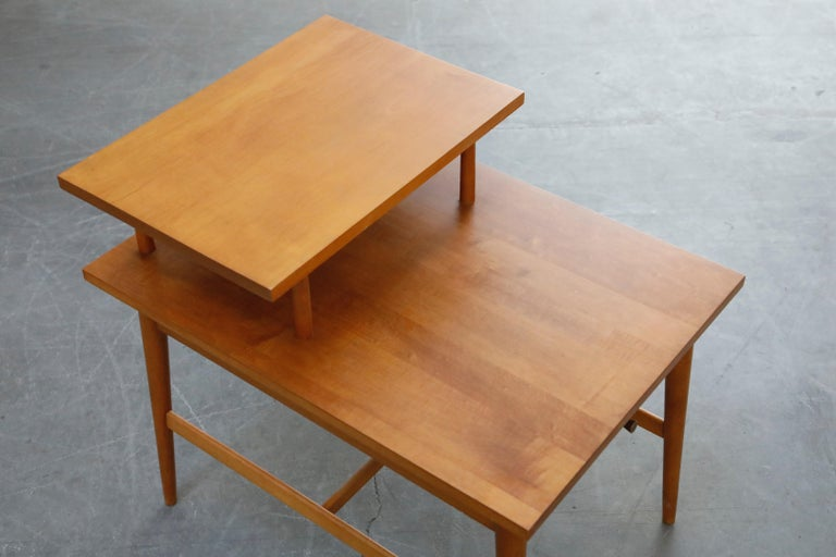 Paul McCobb Planner Group Side Table or Nightstand for Winchedon, circa 1950 For Sale 7